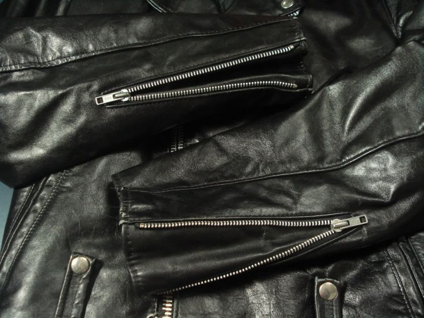 Vintage HARLEY DAVIDSON Motorcycle Leather Jacket 36R