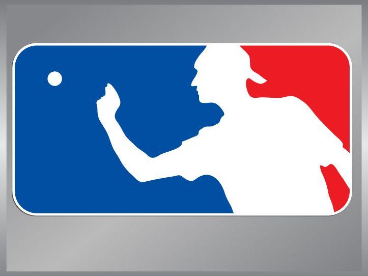 Beer Pong Sports Logo vinyl decal bumper stickers