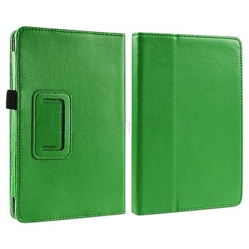 Fire Premium Folio Leather Slim Case Cover Pouch With Flip Back Stand