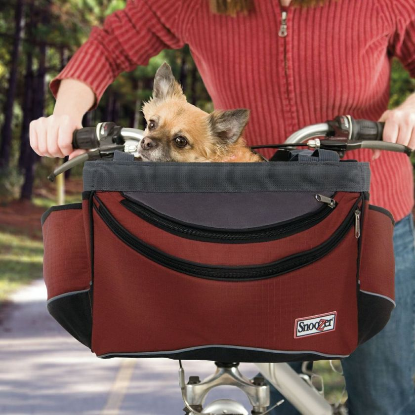 Sporty Pet Bike Basket Dog Cat 15 LB Bike Carrier Bicycle Tote bag w