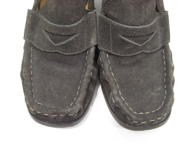 michael kors brown suede loafer wedges in size 11 these shoes have