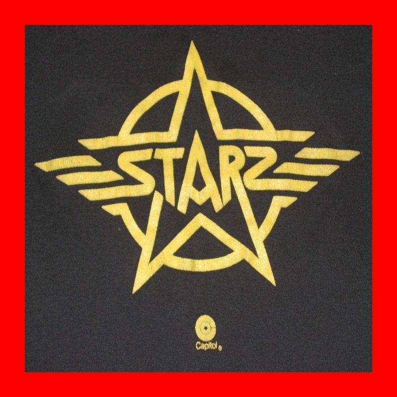 1976 STARZ VTG PROMO T SHIRT 70s motley crue OG poison