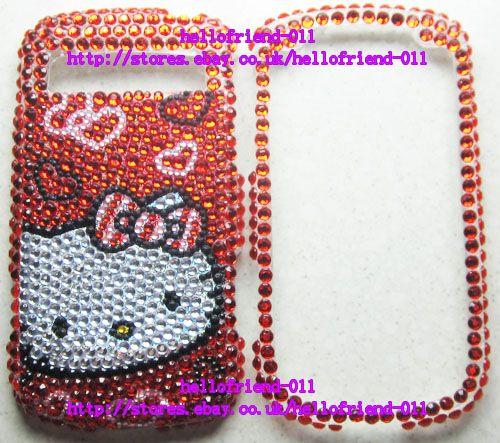 kitty BLing Full Case Cover For Samsung Admire Vitality R720 #D