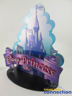 Disney Princess Cinderella Castle 3D Display Prop Sign