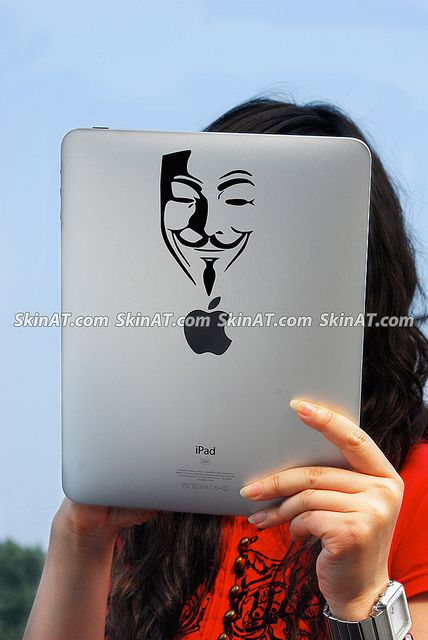 Mask iPad decal Laptop skin Tablet vinyl Sticker Skins